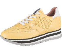 Sneakers gelb / schwarz / weiß