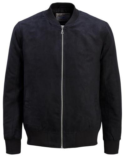 Klassische Jacke ultramarinblau