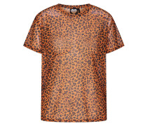 Shirt 'TS Golden Cheetah' braun