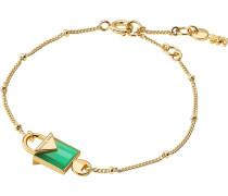 Armband gold / smaragd