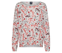 Pullover 'Pint panther pullover' grau