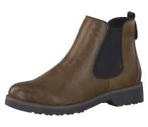 Boots 'Feel' braun / schwarz