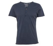 T-Shirt 'MT Lemonade button' taubenblau