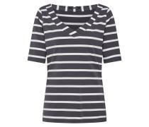 Shirt dunkelgrau / offwhite