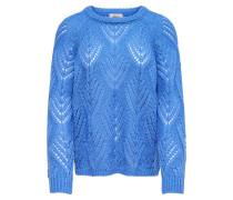 Pullover royalblau