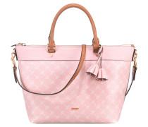 Tasche 'Cortina Thoosa' rosa / weiß