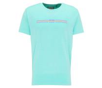 T-Shirt cyanblau