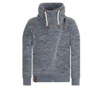 Male Zipped Jacket grau