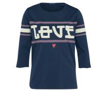 Shirt 'Sporty Tee' navy