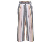 Hose grau / rosa / weiß