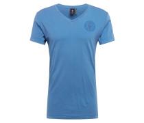 Shirt 'Graphic 18' blau