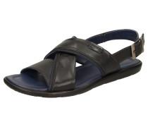 Sandale 'Milito-703' violettblau / schwarz
