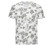 T-Shirt grau / dunkelgrau