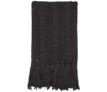 Schal 'long Cable Scarf' graphit
