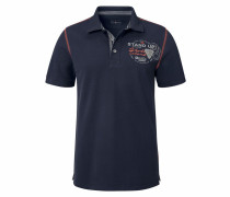 Poloshirt 'Piqué Qualität' marine
