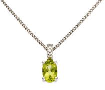 jewels Kettenanhänger grün / silber
