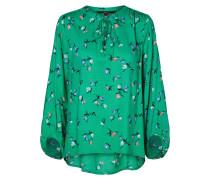 Bluse hellgrün / mischfarben