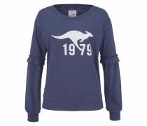 Sweater marine / weiß