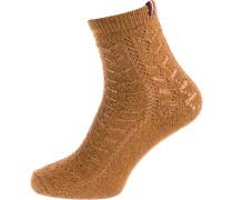 Socken hellbraun