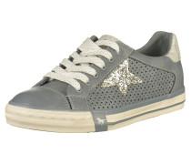 Sneaker taubenblau / silber / weiß