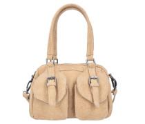 Handtasche 'Lilli Kuba' beige