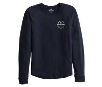 Shirt 'xm19-Ls Flock Core 6Cc' navy