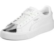 Sneaker 'Basket Platform Metallic'