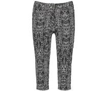 Jeans schwarz / weiß