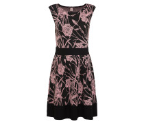 Kleid rosa / schwarz