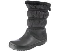 Stiefel 'Crocband' schwarz