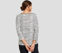 Label-Print `Shirt`