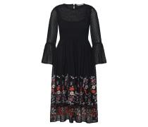 Kleid 'vanilla' mischfarben / schwarz