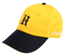 CAP 'lewis Hamilton' gelb / schwarz
