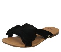 Pantolette 'Fonda' schwarz