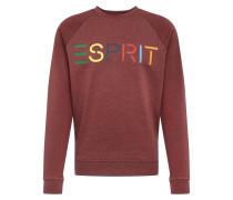 Sweatshirt 'otb logo cneck' rot