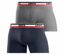 Boxer navy / graumeliert