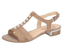 Sandale 'Ariane' beige