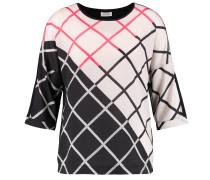 Shirt weiß / pink / schwarz