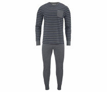 Pyjama graumeliert