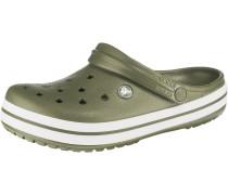 Clog 'Crocband' oliv