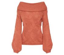 Pullover koralle