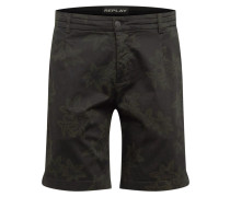 Shorts khaki / schwarz