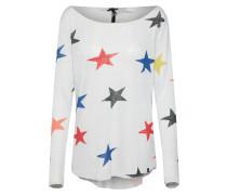 Pullover mischfarben / silber