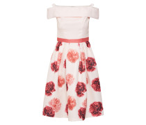Kleid rosa / puder / rot