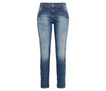 Loosefit Jeans mit Crinkle-Effekt
