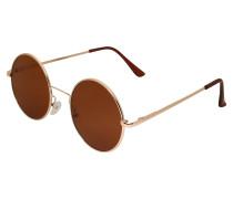 Sonnenbrille gold