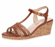 Sandalette braun / hellbraun
