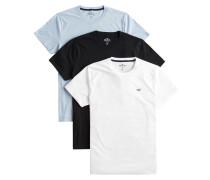 T-Shirt 'Crew' blau