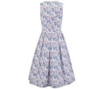 Kleid weiß / saphir / pitaya