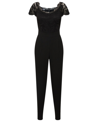 Jumpsuit 'Overall' schwarz